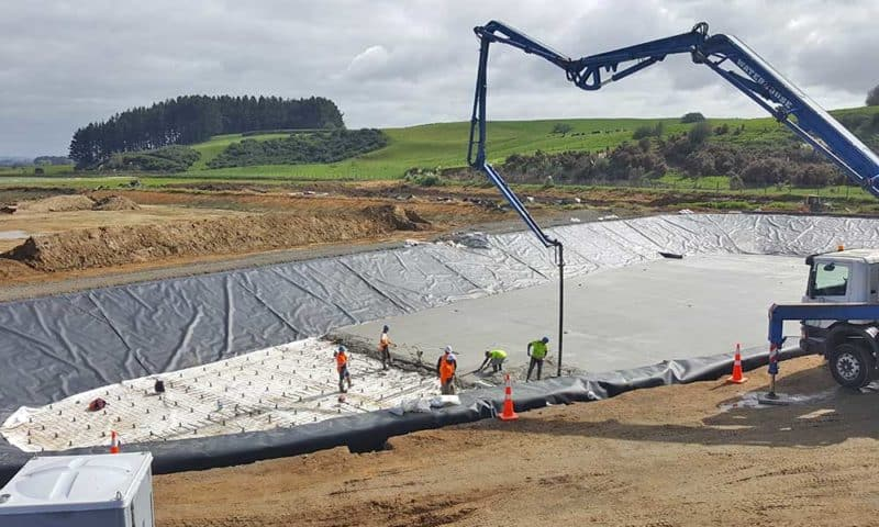 Camex Civil - Projects - Earthworks - 2018 - Te Awamutu Wastewater Treatment Plant Pond Upgrade