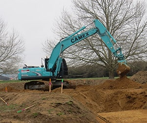 Camex Civil - History - 2015 First 20 ton excavator