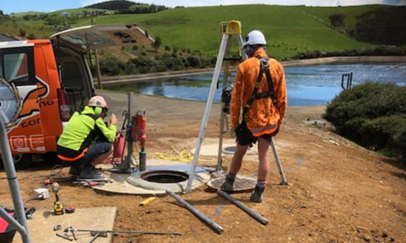 Camex Civil - Projects - Process - 2019 Raglan and Te Kauwhata Step Screen Installation