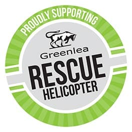 Greenlea Rescue Helicopter - Logo - Camex Civil Supporter