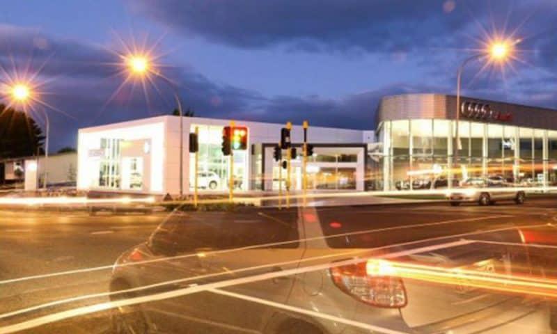Camex Civil - Projects - Civil Site Works - Ebbett Prestidge VW and Audi